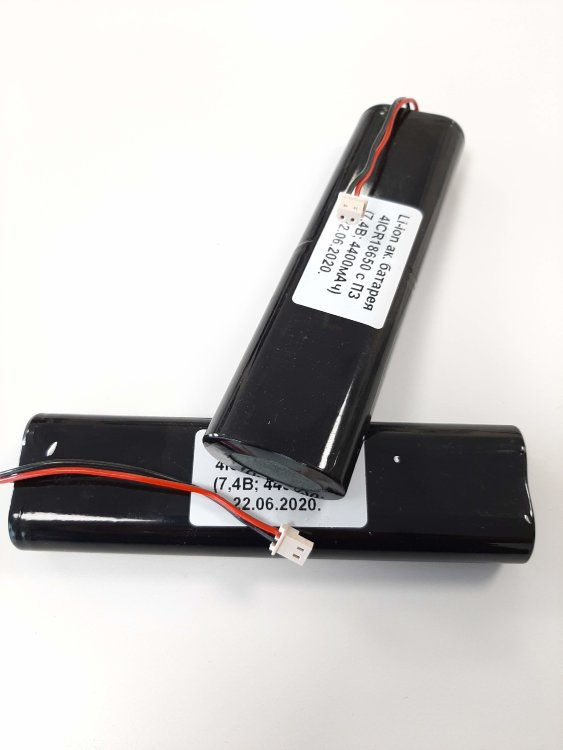 Комплект аккумуляторов для  Javad Maxor, Sigma (4400 mAh Lithium Ion Battery Pack Kit)
